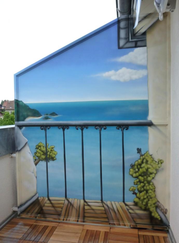 separation balcon. Black Bedroom Furniture Sets. Home Design Ideas