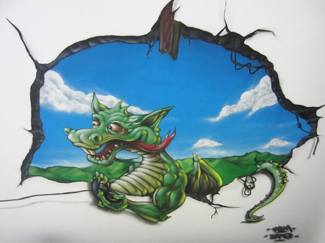 Dragon Au Plafond Feat Shem Graffeur Ch