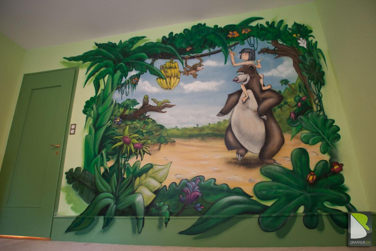 Deco Chambre Le Livre De La Jungle