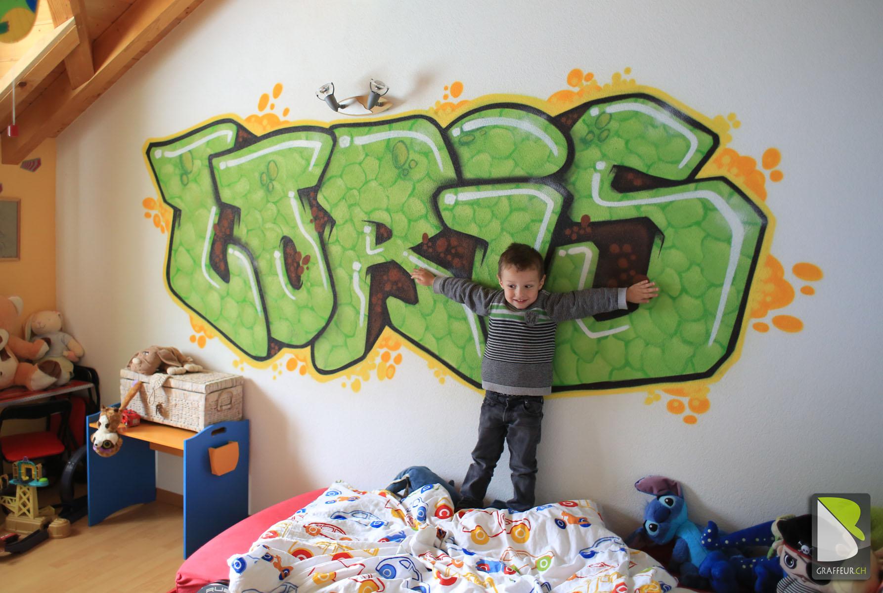 Chambre Graffiti pour Enfant