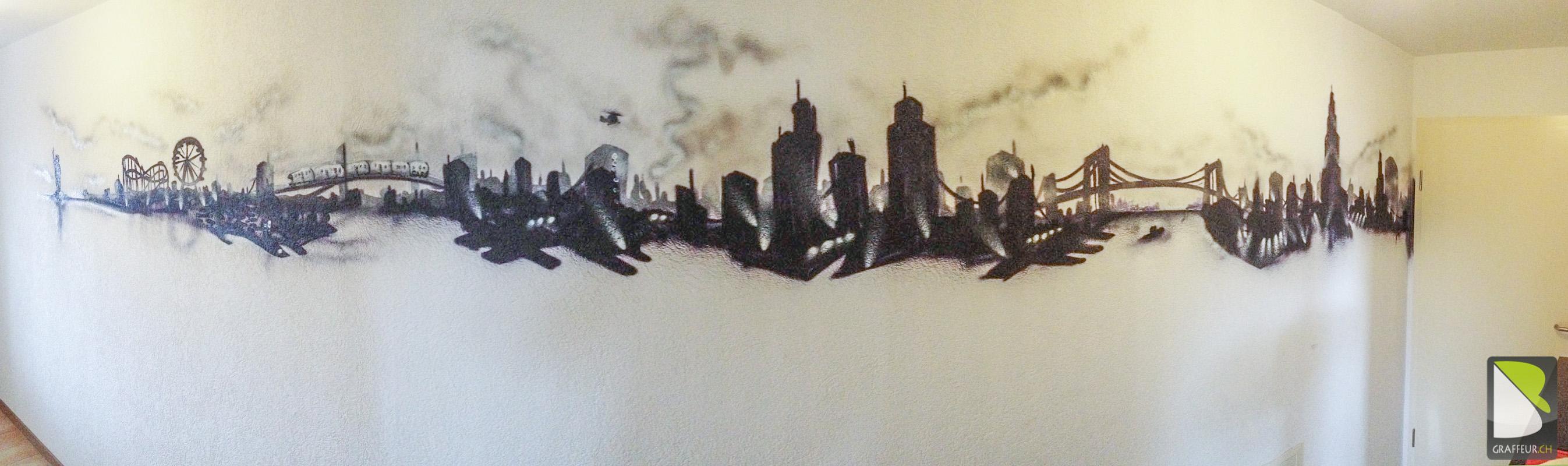 Frise New York Couloir