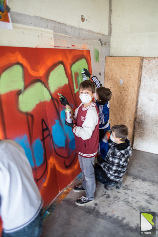 Anniversaire Graffiti De Johan