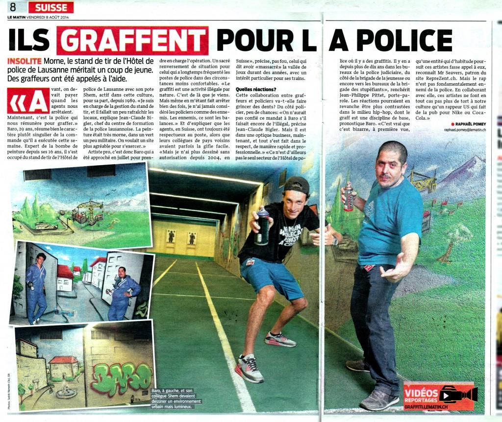 Article_matin_Graffiti_police