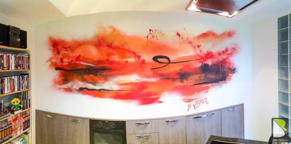 Cuisine Graffiti Abstrait